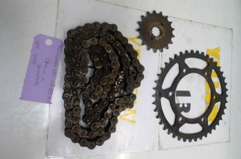 KAWASAKI ER5 C-1 BREAKING.  CHAIN & SPROCKETS  #5   (CON-D)